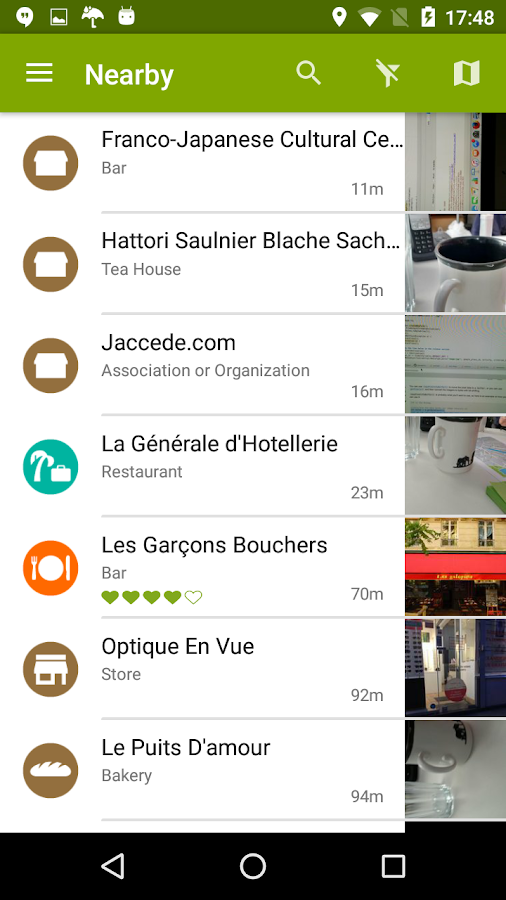 Jaccede- screenshot
