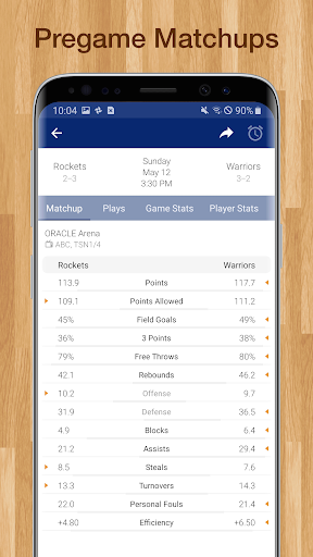 Basketball NBA Live Scores, Stats, & Schedules 9.0.8 screenshots 14