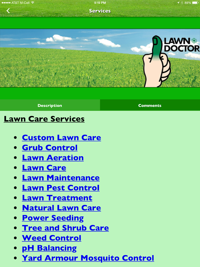 Lawn Doctor of Ulster ...- screenshot