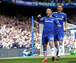 Eden Hazard toujours aussi étincelant avec Chelsea