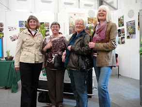 Photo: Special CP-exhibition at the Regio-Messe 2010. Heidi, Irmgard, Gabi and Inge at the info-corner.