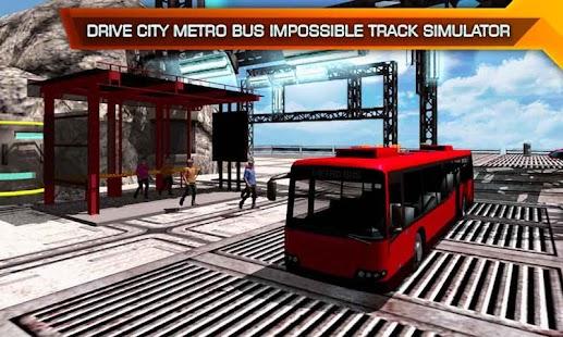 Metro autobus Nemožné dráha řídit - náhled