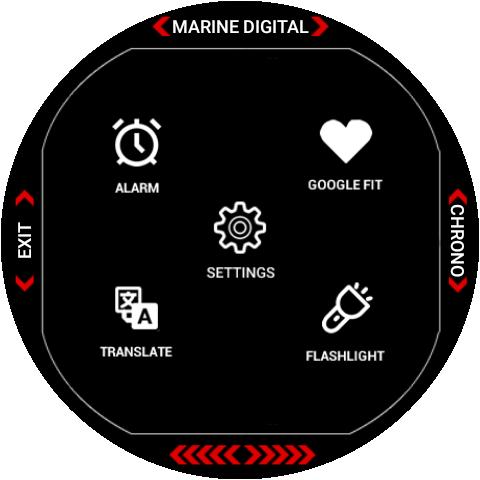 Marine Digital 2 Watch Face & Clock Live Wallpaper 1.07 screenshots 20