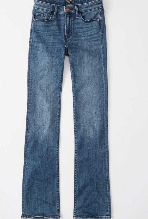 comfortable blue jeans