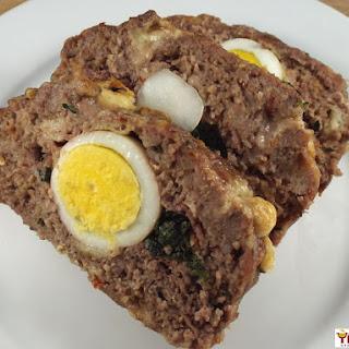 Polpettone (Italian Stuffed Meatloaf).