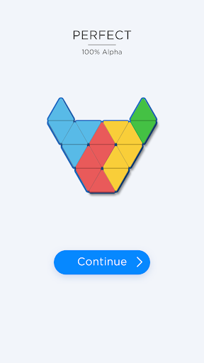 Triangle Tangram: The Block Puzzle Game!  captures d'u00e9cran 2