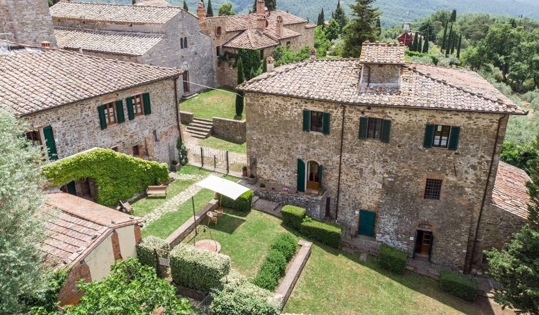 Maison avec terrasse Bucine