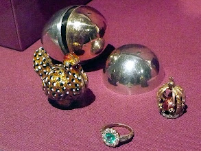 Photo: Part of the Matilda Geddings Gray collection of Faberge and usually resides in the Cheekwood Botanical Garden and Museum of Art in Nashville, TN.