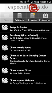 La Cartelera App screenshot 0