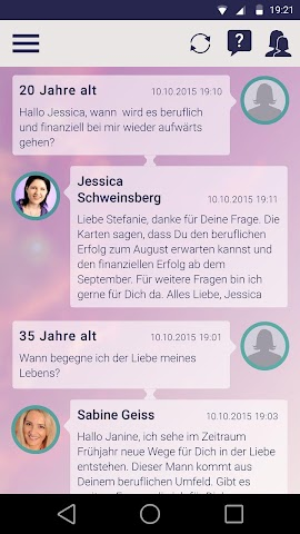 android fortunica - Spirituelle Hilfe Screenshot 4