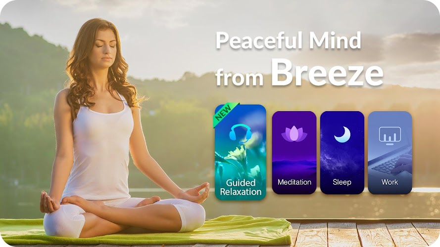 Download Breeze - Meditation & Sleep Music, White Noise APK latest