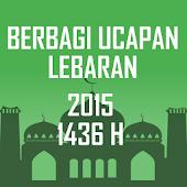 Ucapan Lebaran 2015