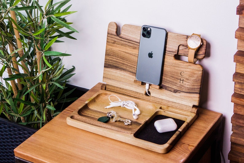 Place A Charging Station on Nightstand