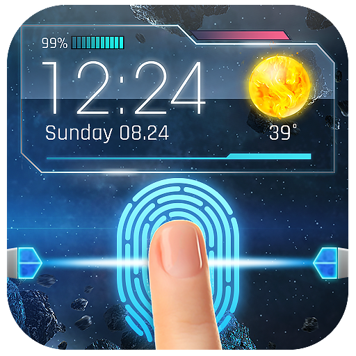 Scan Fingerprint to Unlock Mobile (prank)