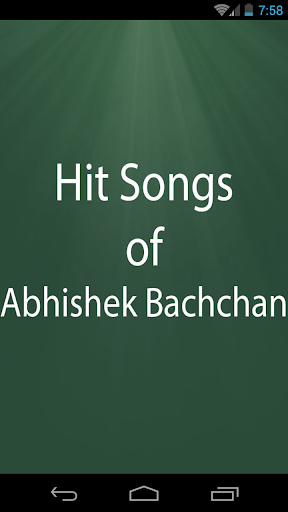 Hit Songs of Abhishek Bachchan