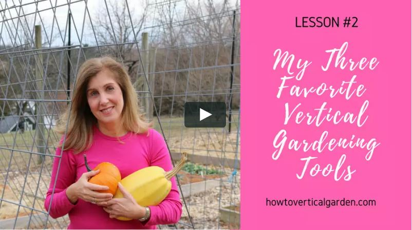 Vertical Gardening Mini Course
