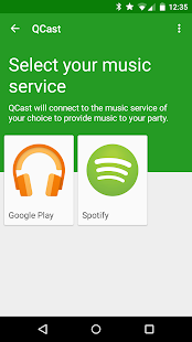 QCast- Collaborative Playlists- screenshot thumbnail