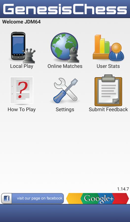 Genesis Chess - screenshot