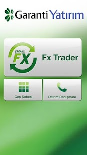 Garanti FX Trader - náhled