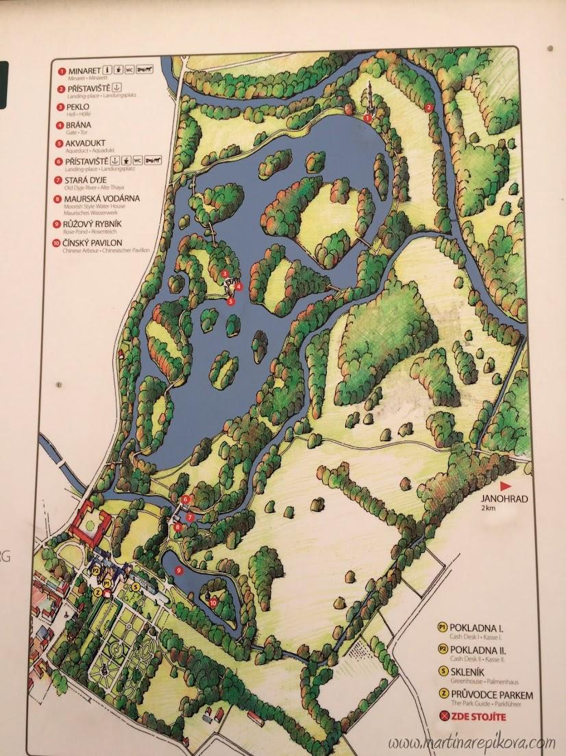 Mapa zahrad