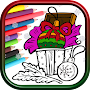 Christmas Pictures To Color Games APK icon