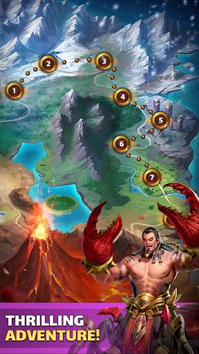 MythWars & Puzzles: RPG Match 3 screenshots 6