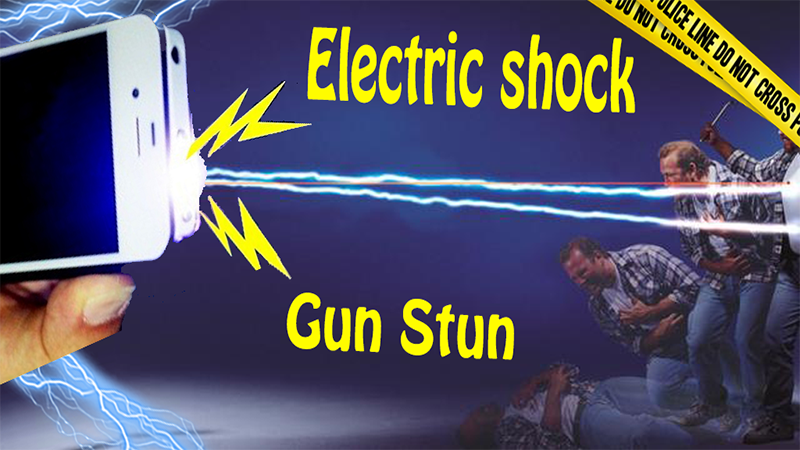 Electric Shock Gun Stun P✪lice- screenshot