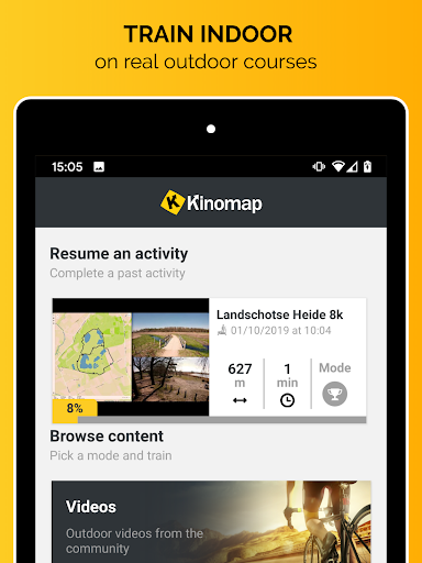 Kinomap - Indoor training videos screenshots 8
