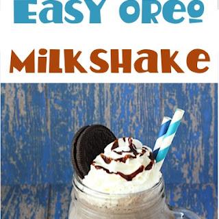 Easy Oreo Milkshake Recipe!