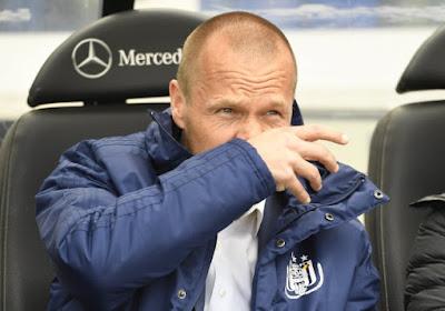 Pär Zetterberg prend la porte du côté d'Anderlecht !