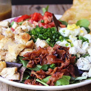 Cosi Cobb Salad with Sherry Shallot Vinaigrette (Copycat).