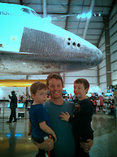 Photo: Clark, Finn, Daddy, and Endeavour