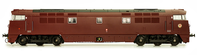Photo: 4D-003-007   Class 52 Western