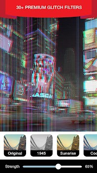 Glitch Video Effect and Trippy Effects Editor