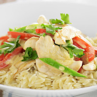 Honey Mustard Chicken Orzo