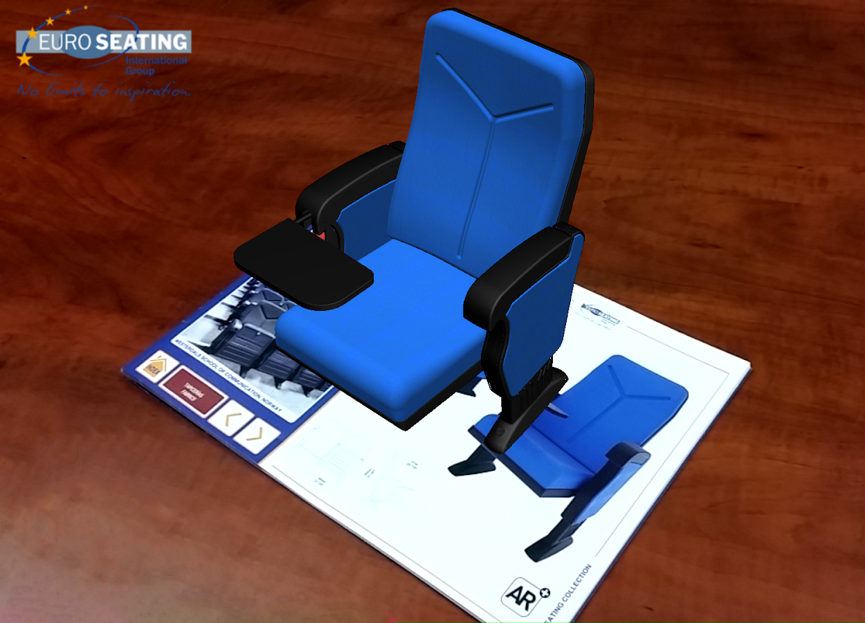 Euro Seating AR- screenshot