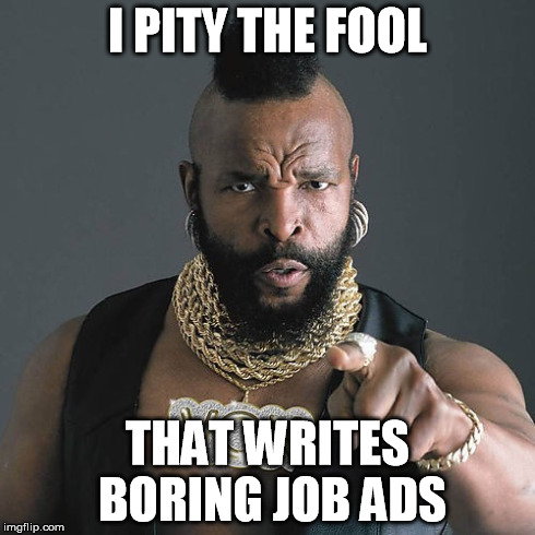 Image result for job ad meme