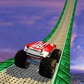 Impossible Stunts Monster Truck Game