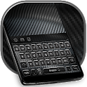 Carbon Fiber Keyboard Hi-Tech Theme icon