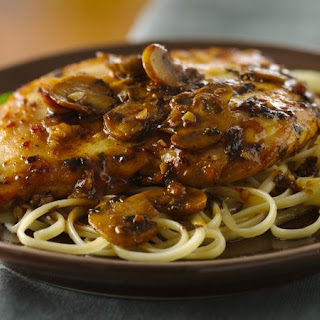Chicken Marsala.