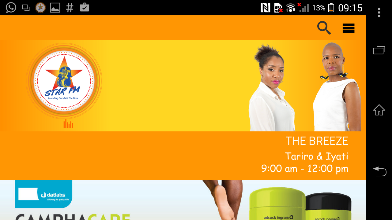 Star FM Zimbabwe- screenshot