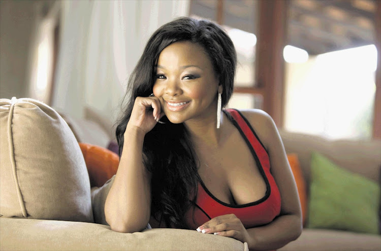 Nonhle Thema returned to screens on Thursday.