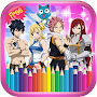 How To Color Fairy Tail - Coloring Book APK icon