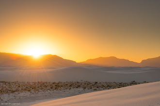 Photo: Last Rays. Sunset on the White Sands Bigger: http://smu.gs/1tNfvsa #landscape   #landscapephotography   #sunsetsaturday   #sunset +Landscape Photography