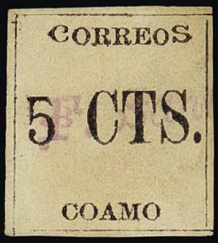 Porto Rico, premier timbre émis sous administration U.S.