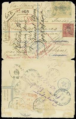 Un courrier recommandé en direction d'Athènes
