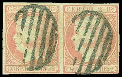 Deux timbres rares d'Espagne