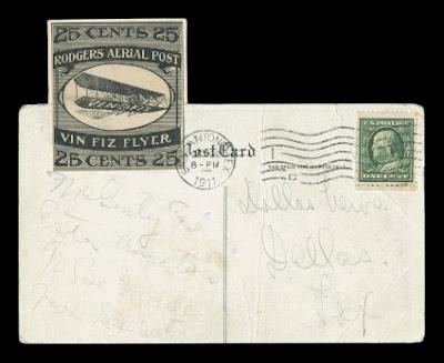 The Vin Viz Flyer Stamp