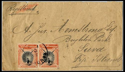 Une lettre de North Borneo
