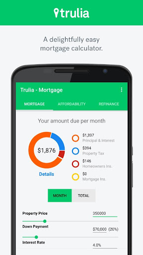 Trulia Mortgage Calculators  screenshots 1